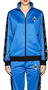 Marcelo Burlon County of Milan Women's Tech-Jersey Track Jacket - Blue White