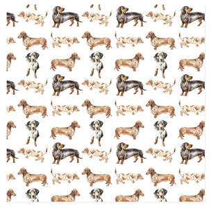 Doxie Wrapping Paper Self-Launch Wrapping Paper