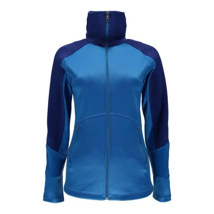 Womens French Blue Bandita Full Zip Stryke Jacket