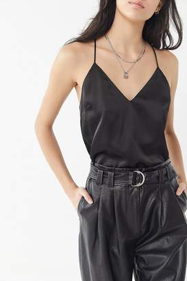 Urban Outfitters Satin Strappy Back Cami