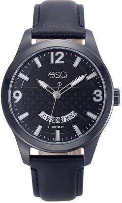 ESQ Mens Black Strap Watch-37esq008201a
