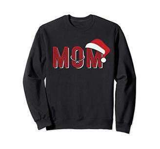 Mom Christmas Santa Matching Pajama Women Gift Sweat Shirt