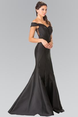 Elizabeth K - Laced Sweetheart Mikado Mermaid Dress GL2213 $158 thestylecure.com