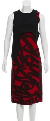 Proenza Schouler Patterned Sleeveless Dress