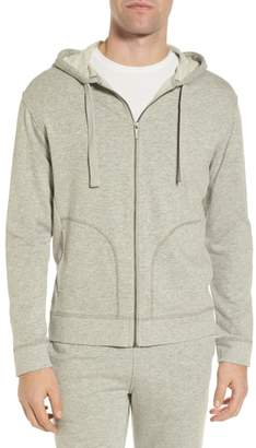 UGG Elliot Terry Cotton Blend Zip Hoodie
