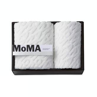 MoMA STORE (モマ ストア) - MoMA STORE MoMA ジャカード フェイス・ゲスト タオル(2枚セット)