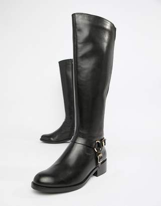 Carvela Leather Riding Knee Boot