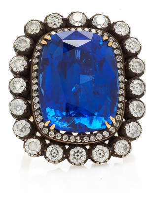 Munnu The Gem Palace One-Of-A-Kind Sapphire And Diamond Ring