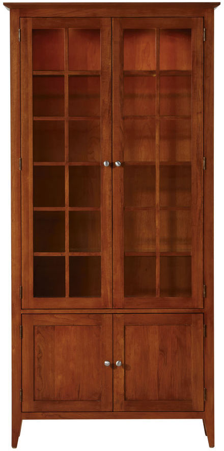 Ethan Allen Emery Tall Display Cabinet