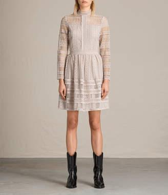 AllSaints Rowan Lace Dress