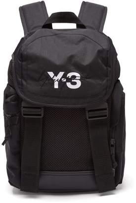9095179a782e Y-3 Y 3 Xs Mobility Logo Print Backpack - Mens - Black