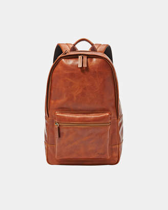 Fossil Estate Casual Cognac Backpack