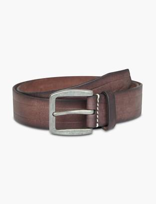 Lucky Brand Linear Embossed Belt