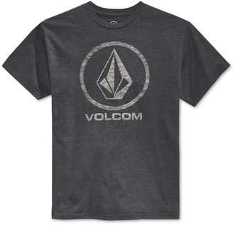 Volcom Men's Corpo Push Graphic-Print Logo T-Shirt