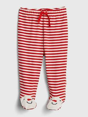 Gap Organic Snowman Footed Pull-On Pants
