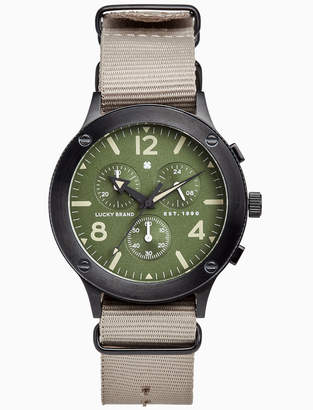 Lucky Brand ROCKPOINT MULTI-FUNCTION KHAKI, 42MM