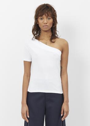 Jacquemus white le t-shirt une manche $108 thestylecure.com