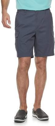 Croft & Barrow Men's Classic-Fit Flex-Tab 9-inch Twill Cargo Shorts