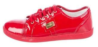 Dolce & Gabbana Boys' Patent Leather Sneakers