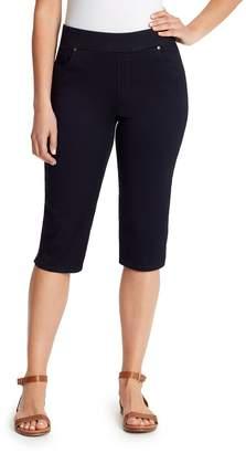 Gloria Vanderbilt Petite Avery Pull-On Bermuda Shorts