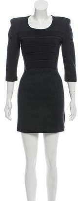Markus Lupfer Overlay-Paneled Mini Dress