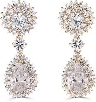 Thomas Laine Duchess Trio Drop Earrings