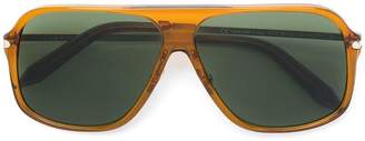 Victoria Beckham aviator shaped sunglasses