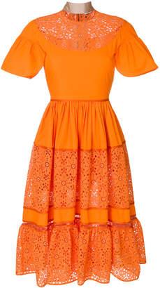Fendi daisy flowers dress