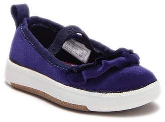 Dr. Scholl's Kameron Velvet Ruffle Flat (Toddler & Little Kid)