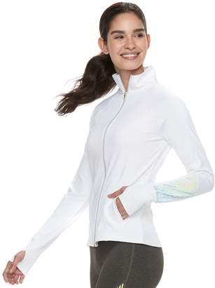 Fila Sport Women's SPORT Reflective Thumb Hole Jacket