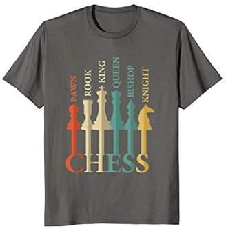 Rook Chess Pawn Bishop Checkmate T Shirt