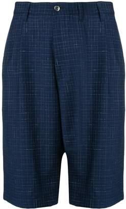 Junya Watanabe check bermuda shorts