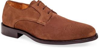 Carlos by Carlos Santana Gypsy Medallion Suede Oxford Men's Shoes