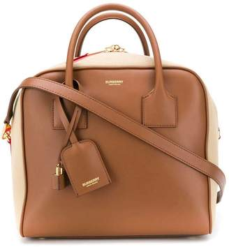 Burberry striped detail bowling bag