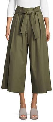 BCBGMAXAZRIA Issac Wide-Leg Cropped Pants