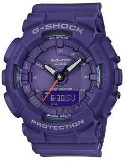 G-Shock S-Series Step Tracker Analog and Digital Strap Watch