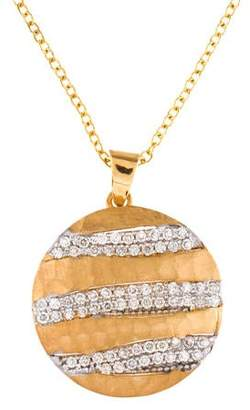 Reiss I. 14K Diamond Pendant Necklace