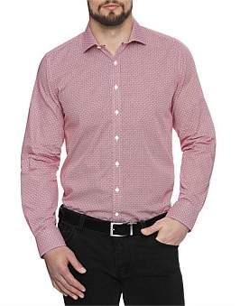 Geoffrey Beene Mendacino Medallion Body Fit Shirt
