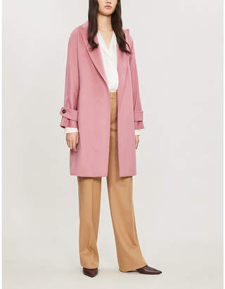 Max Mara Nevada camel-wool coat