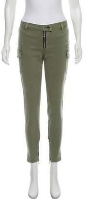 RtA Denim Midi-Rise Skinny Jeans