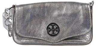 Tory Burch Mini Metallic Leather Classic Crossbody Bag