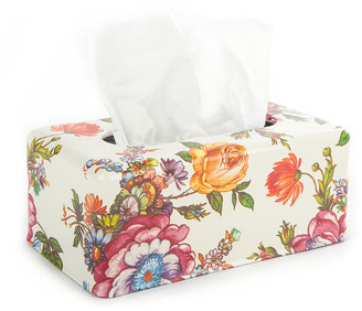 Mackenzie Childs Flower Market Standard Tissue Box Holder