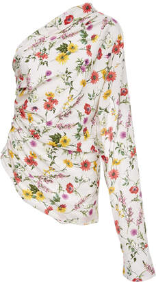 Hellessy Paley Floral Blouse