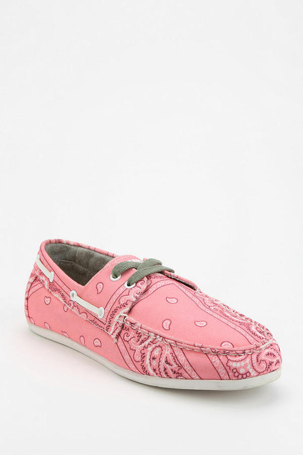 STUDY Footwear Bandana Boat Shoe