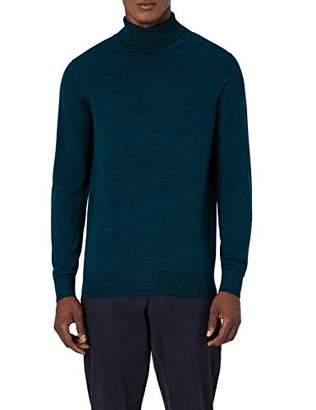 d7987be1ade5c7 MERAKI Men's Fine Merino Wool Roll Neck Jumper,(Size: XX-Large)