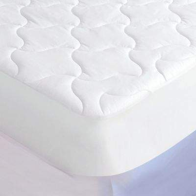 Iso-Cool® Quilted Twin Mattress Pad in White