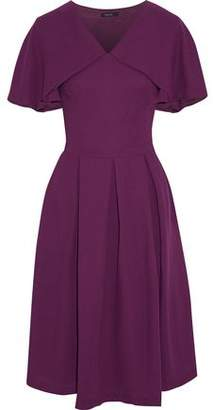 Raoul Layered Flared Pleated Crepe Dress