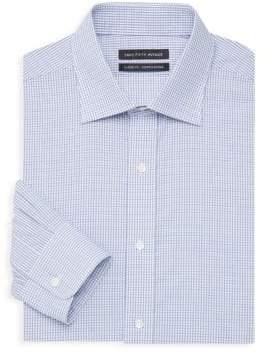 Saks Fifth Avenue Slim-Fit Windowpane Dress Shirt