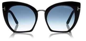 Tom Ford Samantha Cutoff Sunglasses in Black