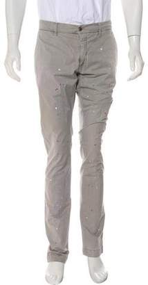Closed Paint Splatter Skinny Pants